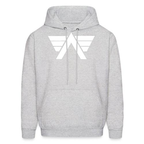 Bordeaux Sweater White AeRo Logo - Men's Hoodie