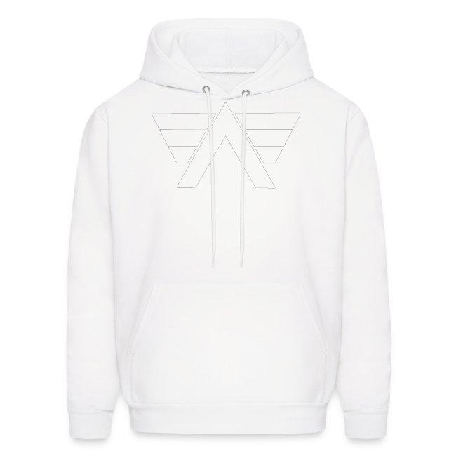 Bordeaux Sweater White AeRo Logo