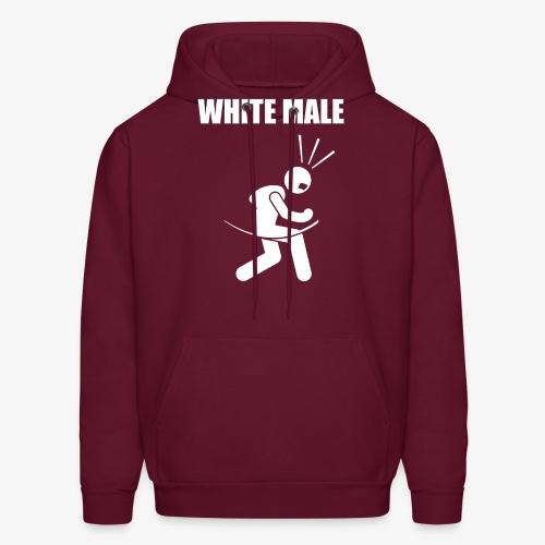 White Male Yes - Men's Hoodie
