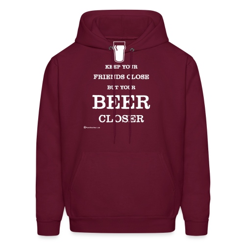Keep Your Beer Closer - Men's Hoodie