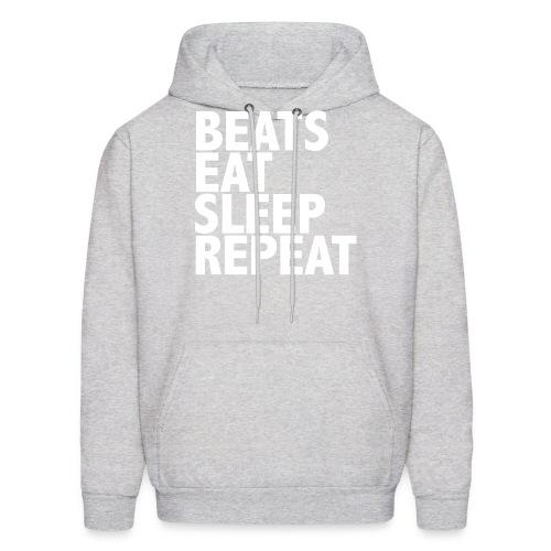 beatsrepeat png - Men's Hoodie