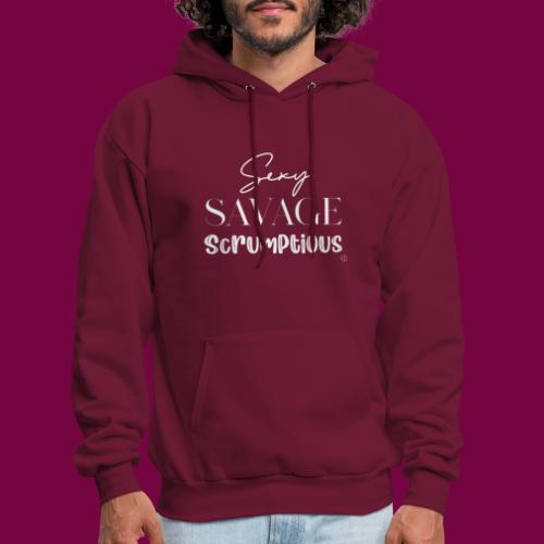 Sexy, savage, scrumptious - Men's Hoodie