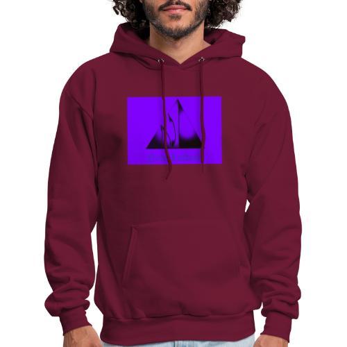 Purple Logo - Men's Hoodie