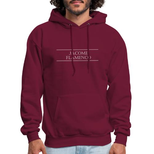 Jácome Flamenco - White Text Only - Men's Hoodie