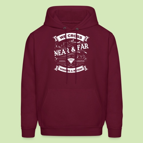 Vintage Near and Far - Men's Hoodie