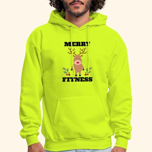 merry fitness Christmas Tee - Men's Hoodie