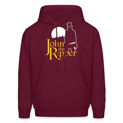 Evil John The Ripper Dark background - Men's Hoodie