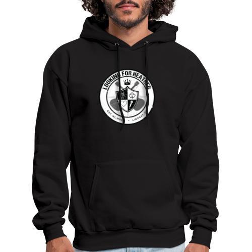 Looking For Heather - Crest Logo - Men's Hoodie