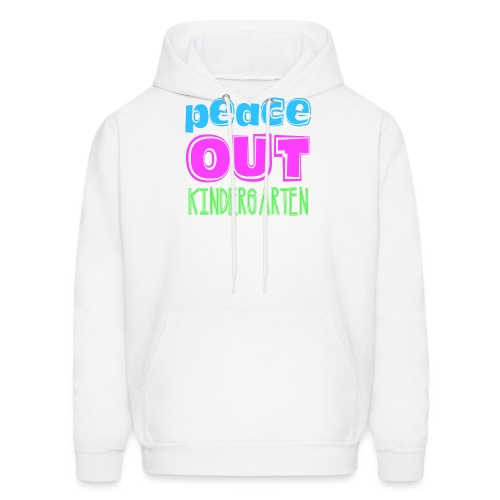 Kreative In Kinder Peace Out - Men's Hoodie