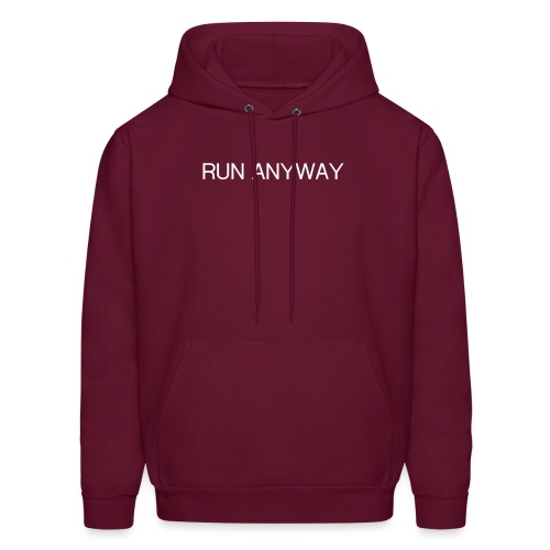 RUN ANYWAY - Men's Hoodie