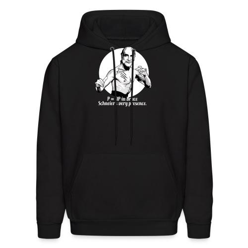 schneier3 martial white - Men's Hoodie