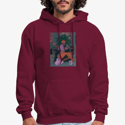 Medusa Girl - Men's Hoodie