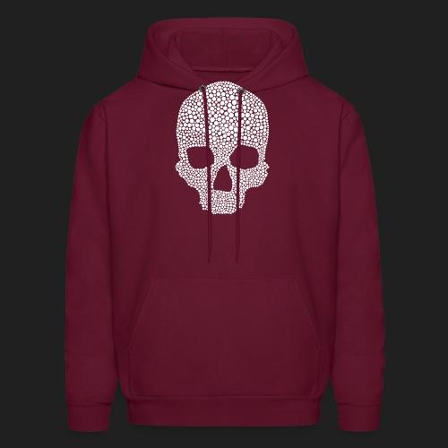 Scarlet Bones Hex Design - Men's Hoodie