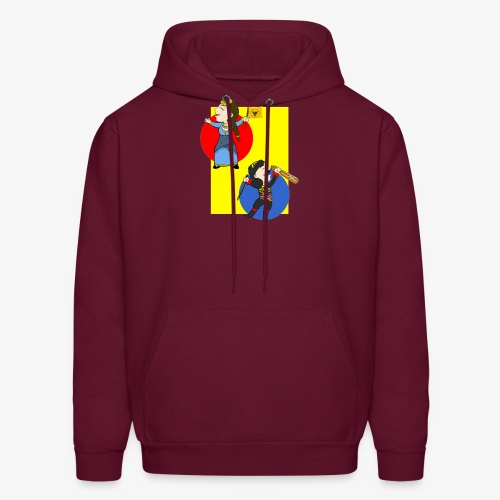 Cartoon - Pontios/lyra & Pontia/flag - Men's Hoodie