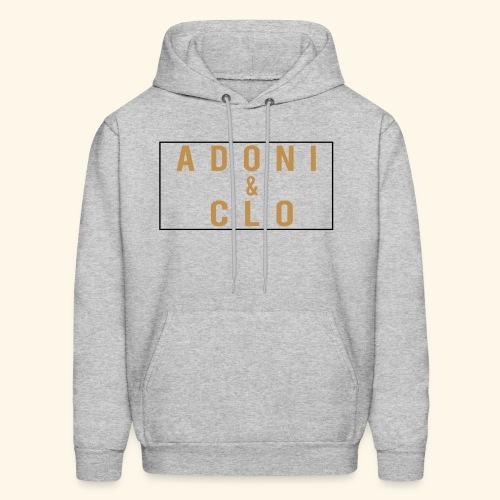Adoni & Clo Simple Rectangle - Men's Hoodie