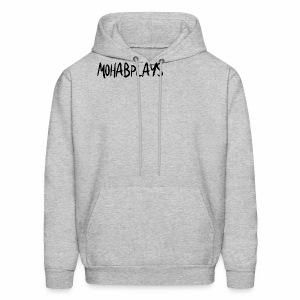 MohabPlays Plain Logo - Men's Hoodie