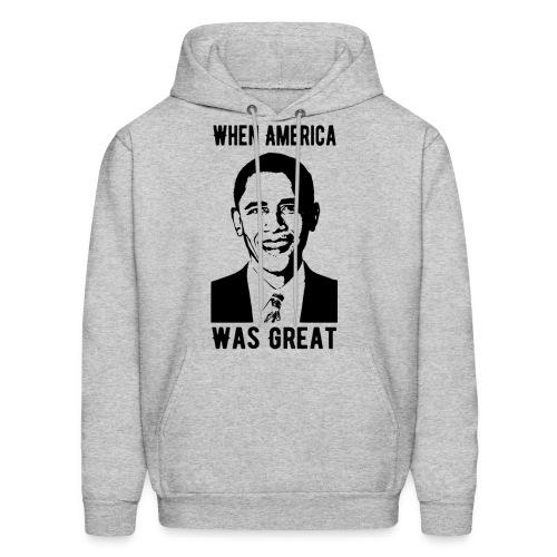 When America Was Great - Men's Hoodie