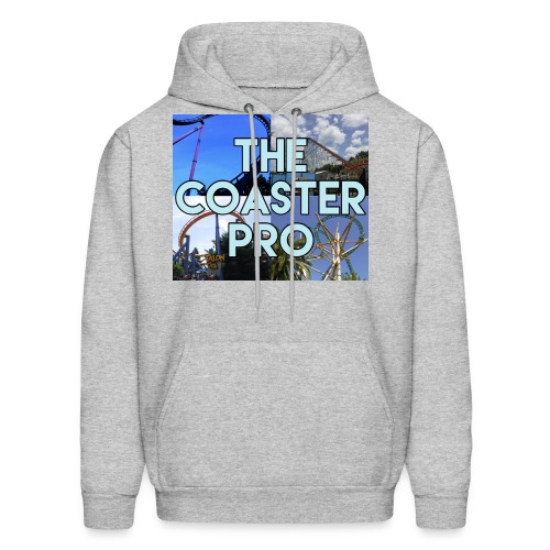 The Coaster Pro 4 Coaster Logo - Men's Hoodie