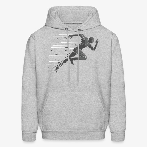Just Keep Running - Men's Hoodie