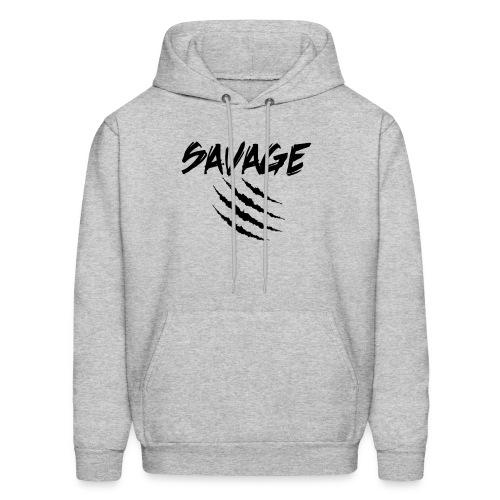 Savage Claw Mark - Men's Hoodie