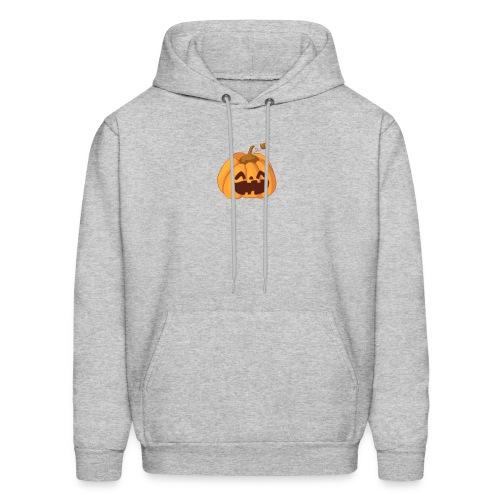 smiley pumpkin - Men's Hoodie