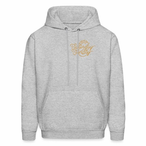 saturday sunday - Men's Hoodie