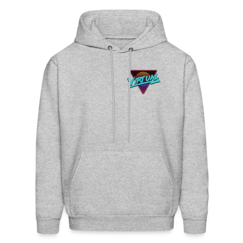 Virtual Logo - Men's Hoodie