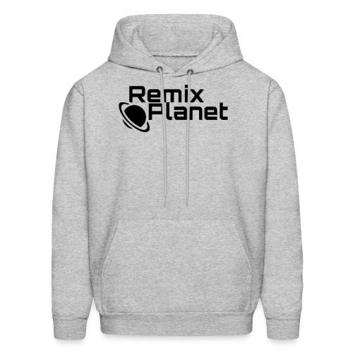 RemixPlanet Black Logo - Men's Hoodie