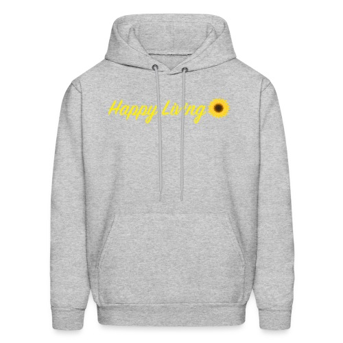 Happy Living - Men's Hoodie