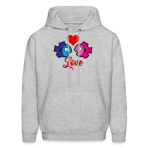 Love under the sea - Men's Hoodie