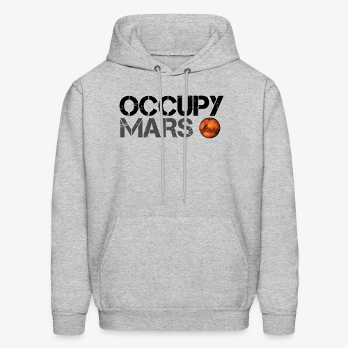 Occupy Mars - Space Planet - SpaceX - Men's Hoodie