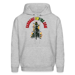 Cannabis On Fire T-Shirt 420 Cannabis Wear 2017 - Men's Hoodie