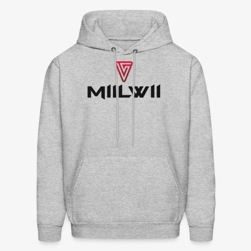 Miilwii logo black - Men's Hoodie