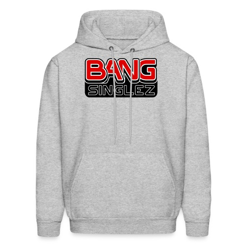 BangSinglez Logo Red - Men's Hoodie