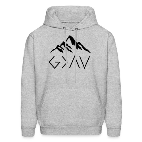 God Is Greater Than The Highs And Lows - Men's Hoodie
