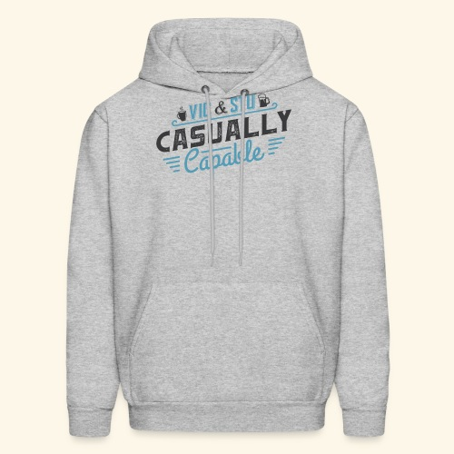Casually Capable - Men's Hoodie