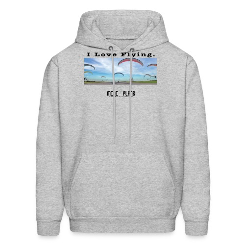 i love flying1 - Men's Hoodie