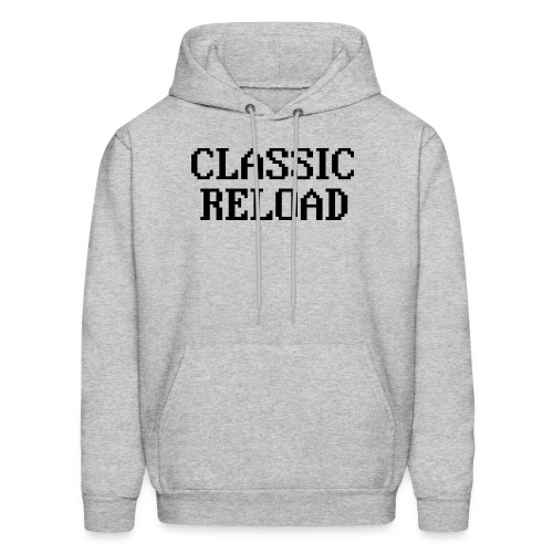 ClassicReload Classic Black - Men's Hoodie