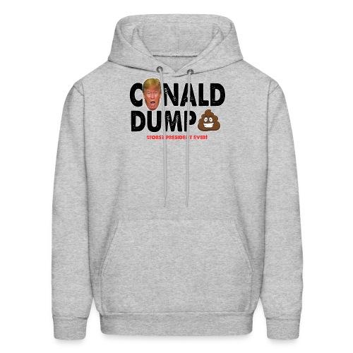 Conald Dump Worst President Ever - Men's Hoodie