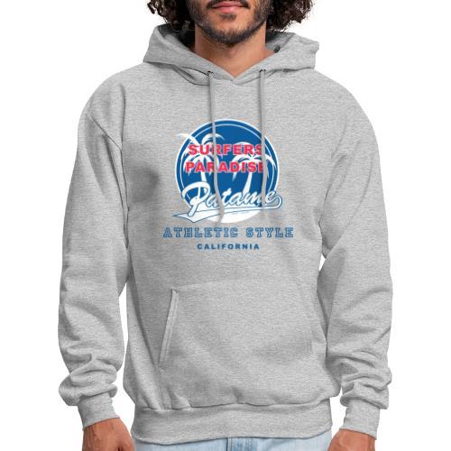 Surfers Paradise Athletic Blue - Men's Hoodie