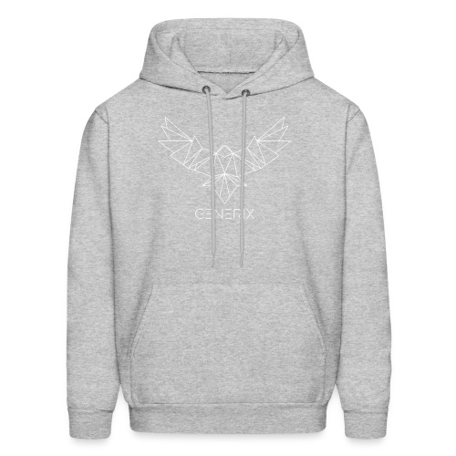 GENERIX Logo and Text Combination - Men's Hoodie