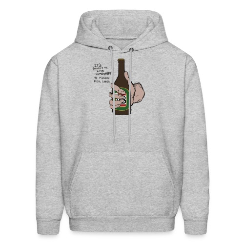it's twenty to eight somewhere - Men's Hoodie