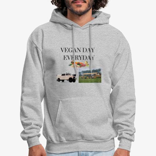 Vegan Day Everyday - Men's Hoodie