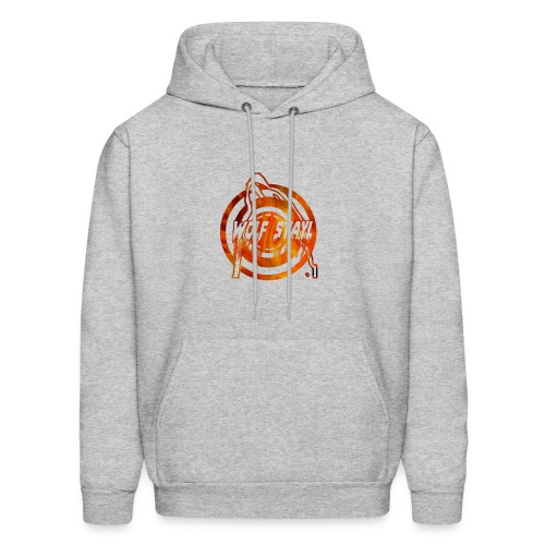 The howling of the wolf - Men's Hoodie