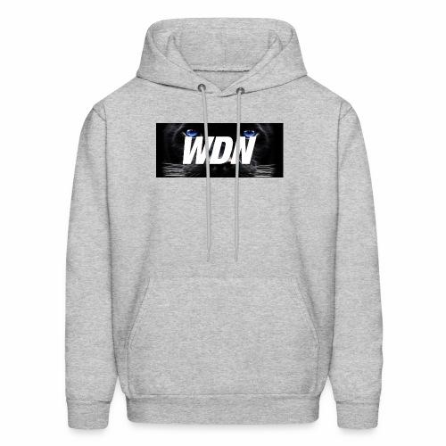 WDN black - Men's Hoodie