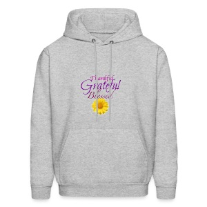 Thankful grateful blessed - Men's Hoodie