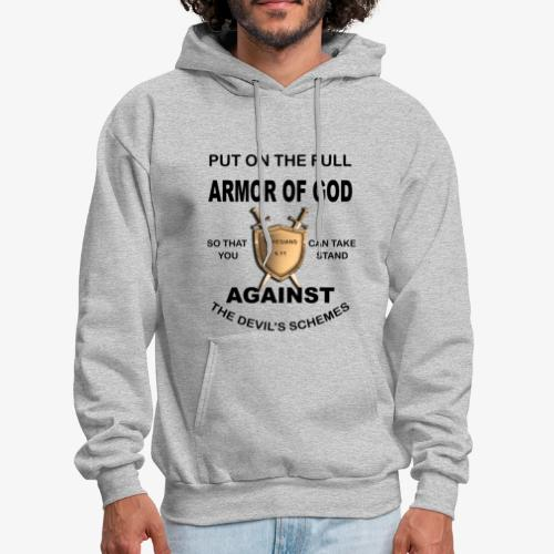 Put On The Full Armor Of God - Men's Hoodie
