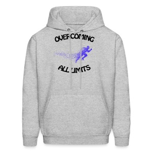 overcoming all limits - Men's Hoodie
