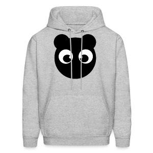 BearBun - Black - Men's Hoodie