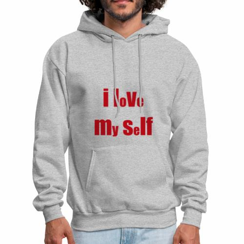 i love my self - Men's Hoodie